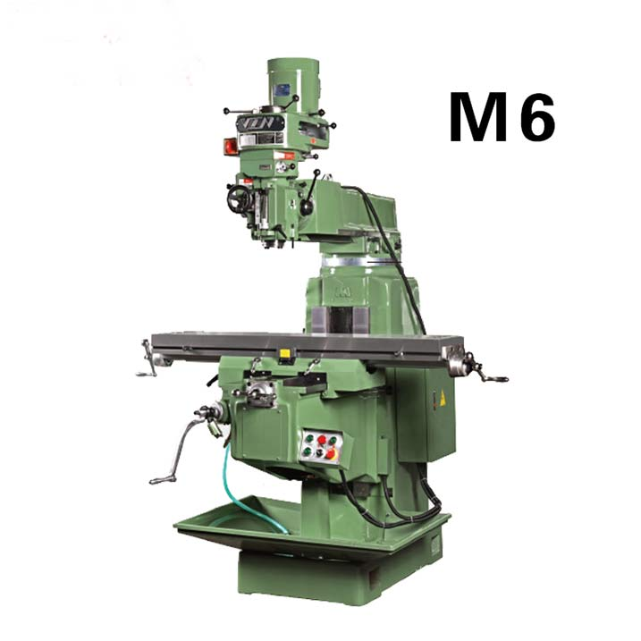 M6炮塔式铣床